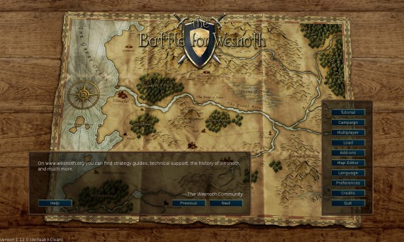 Battle for Wesnoth 1.12