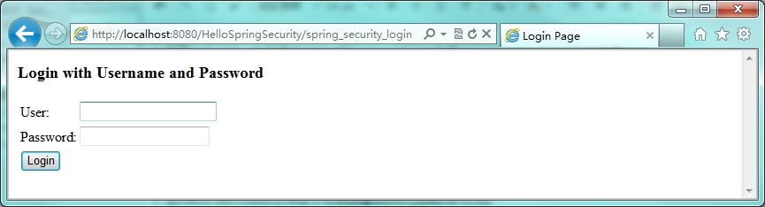 Spring Security身份认证之HelloSpringSecurity